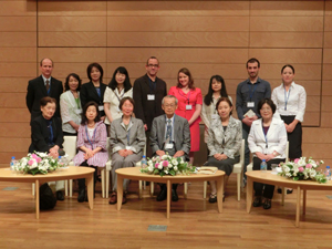 Symposium presenters from both days