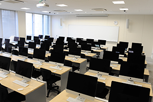 Classroom in the new 3rd building