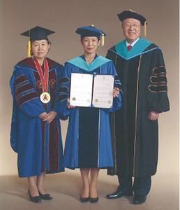 高円宮妃殿下へ韓南大学校より名誉博士号贈呈式が執り行われました