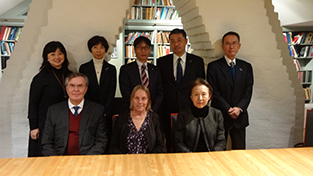 Visiting the campus which holds the European Institute of Japanese Studies