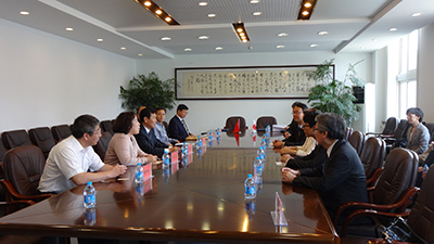 Meeting with Dongbei University of Finance and Economics